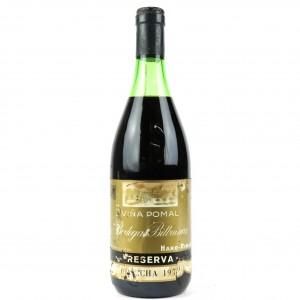 Vina Pomal 1973 Rioja Reserva