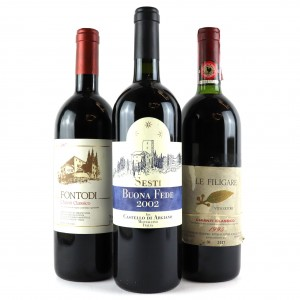 Assorted Tuscan Sangiovese 3x75cl