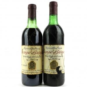 Campo Burgo 1964 & 1970 Rioja Gran Reserva 2x70cl