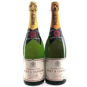 """Moet & Chandon """"Premiere Cuvee"""" NV Champagne 2x75cl"""