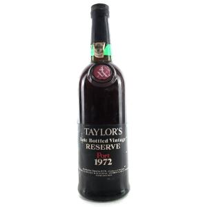 Taylor's 1972 LBV Reserve Port