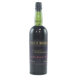 Theo's Bual 1895 Madeira