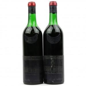 Bertani Secco 1963 Valpolicella / 2 Bottles
