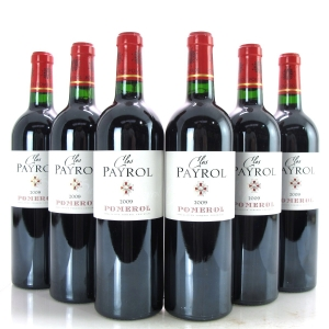 Clos Payrol 2009 Pomerol 6x75cl / Original Wooden Case
