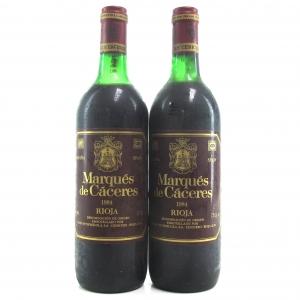 Marques De Caceres 1984 Rioja Crianza 2x75cl