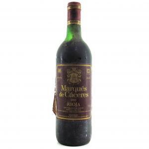 Marques De Caceres 1981 Rioja Crianza