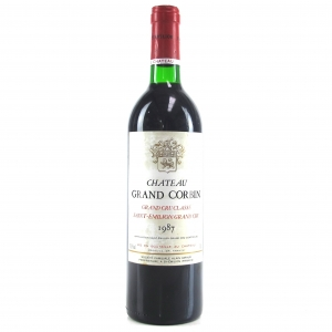 Ch. Grand Corbin 1987 Saint-Emilion Grand Cru