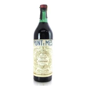 Punt E Mes Amaro Vermouth 1 Litre / Circa 1970s