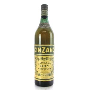 Cinzano Bianco Dry Vermouth / Circa 1960s