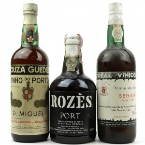 Assorted Ports 3x75cl