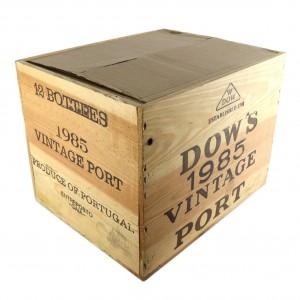 Dow's 1985 Vintage Port 12x75cl / Original Wooden Case