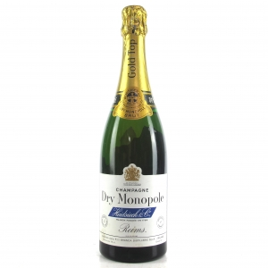 Heidsieck Dry Monopole Gold Top Brut NV Champagne