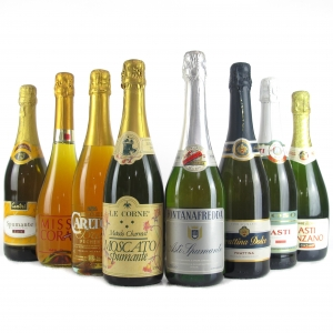 Assorted Sparkling Wines 8x75cl