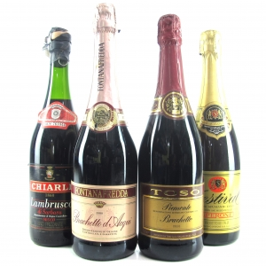 Assorted Italian Sparkling Wines 4x75cl