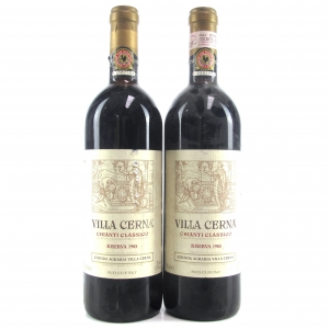 Villa Cerna 1985 Chianti Classico Riserva 2x75cl