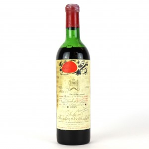 Ch. Mouton-Rothschild 1969 Pauillac 1er-Cru