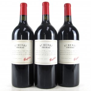 "Penfolds ""St Henri"" Shiraz 2007 South Australia 3x150cl"