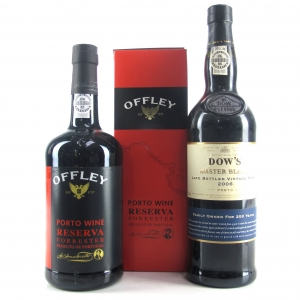 Dow's 2006 LBV & Offley Reserve Ports 2x75cl