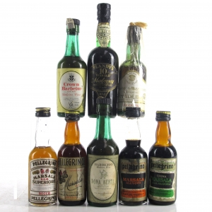 Assorted Madeira & Marsala Miniatures 8x5cl