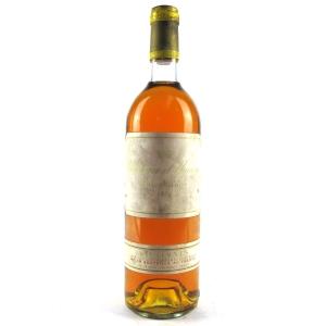 Ch. d'Yquem 1976 Sauternes 1er-Cru-Superior