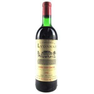 Ch. Lyonnat 1966 Lussac-Saint-Emilion