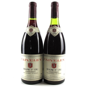 Faiveley 1986 Beaune 1er Cru 2x75cl