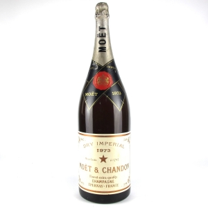 Moet & Chandon 1973 Vintage Champagne 6 Litre / Charity Bottle