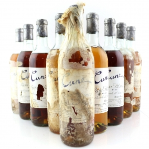 "CVNE Cune ""4 Ano"" Rioja Blanco / 9 Bottles Circa 1950s"