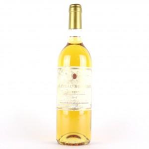 Ch. Bourdon 2002 Sauternes