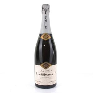 """Petitjean """"Carte Blanche"""" Brut NV Champagne"""