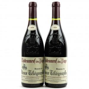 Dom. Du Vieux Telegraphe 1994 Chateauneuf-Du-Pape 2x75cl