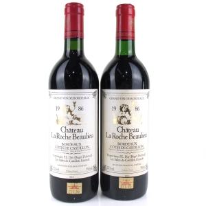 Ch. La Roche Beaulieu 1986 Bordeaux 2x75cl