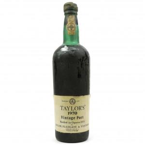 Taylor's 1970 Vintage Port