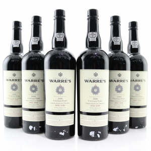 Warre's 2009 Vintage Port 6x75cl / Liberation Of Oporto / Original Wooden Case
