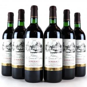 Ch. Les Gauries De Caplong 1995 Bordeaux 6x75cl