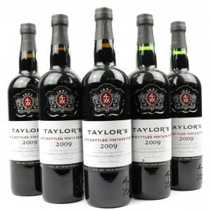 Taylor's 2009 LBV Port 5x75cl