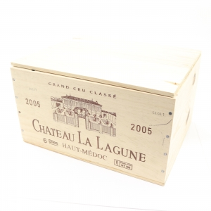 Ch. La Lagune 2005 Haut-Medoc 3eme-Cru 6x75cl / Original Wooden Case