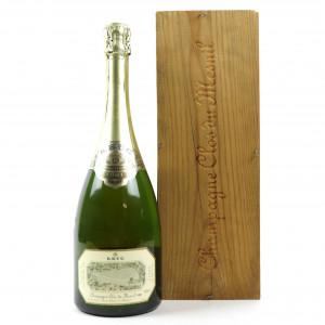 Krug Clos du Mesnil Brut Blanc de Blancs 1981 Vintage Champagne