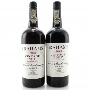 Graham's 1963 Vintage Port 2x75cl