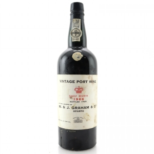 Graham's Finest Reserve 1966 Vintage Port