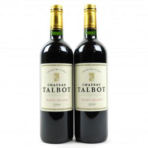 Ch. Talbot 2009 St-Julien 4eme-Cru 2x75cl