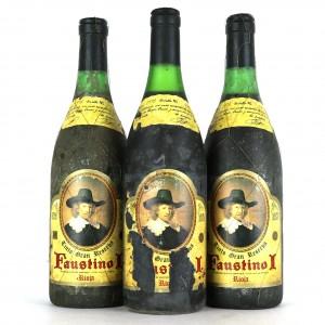 Faustino I 1973 Rioja Gran Reserva / 3 Bottles
