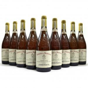 Ch. De Beaucastel 2003 Chateauneuf-Du-Pape Blanc 9x75cl