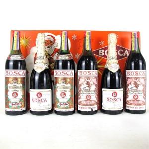 Bosca NV Spumante & Vermouth 6x78cl/1Litre / Presentation Box