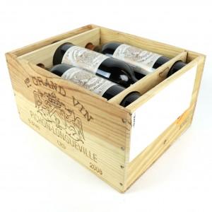 Ch. Longueville au Baron de Pichon-Longueville 2008 Pauillac 2eme-Cru 6x75cl / Original Wooden Case