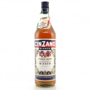 Cinzano Bianco Vermouth 1 Litre / Circa 1980s