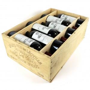Ch. Leoville Las Cases 1995 Saint-Julien 2eme-Cru12x75cl / Original Wooden Case