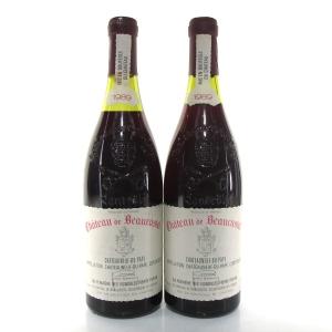 Ch. De Beaucastel 1989 Chateauneuf-Du-Pape 2x75cl