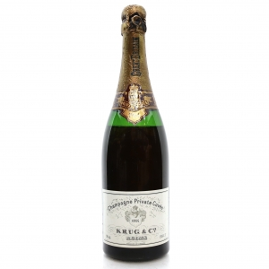 Krug Private Cuvee 1964 Vintage Champagne