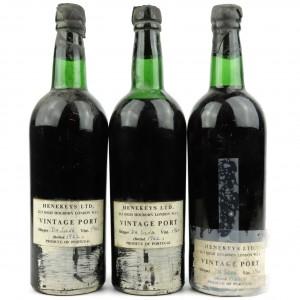 Quinta Do Noval 1960 Vintage Port / 3 Bottles